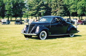 1937 Zephyr coupe